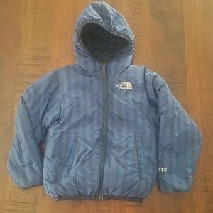 The North Face reversible jacket boy S down 550